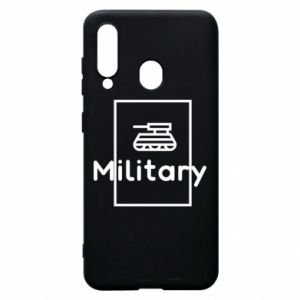 Samsung A60 Case Military with a tank