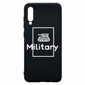 Samsung A70 Case Military with a tank