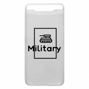 Samsung A80 Case Military with a tank