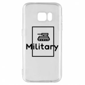 Samsung S7 Case Military with a tank