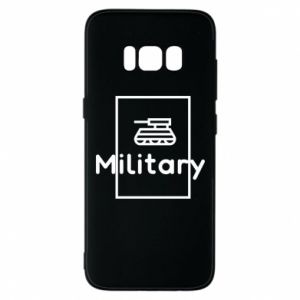 Samsung S8 Case Military with a tank