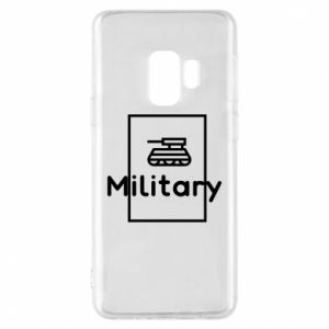 Samsung S9 Case Military with a tank