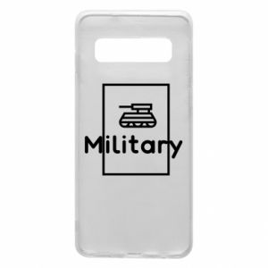 Samsung S10 Case Military with a tank