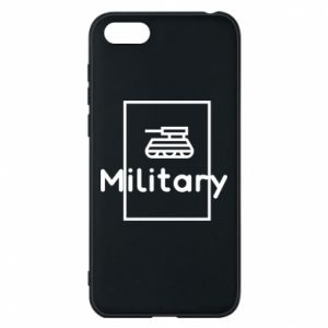 Huawei Y5 2018 Case Military with a tank