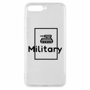 Huawei Y6 2018 Case Military with a tank