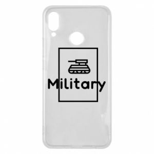 Huawei P Smart Plus Case Military with a tank