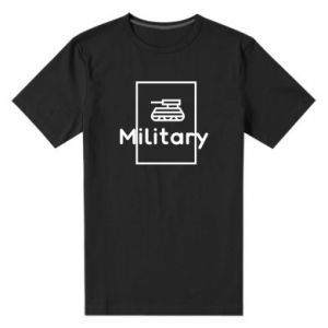 Męska premium koszulka Military with a tank