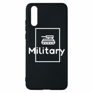 Huawei P20 Case Military with a tank