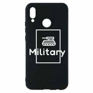 Huawei P20 Lite Case Military with a tank