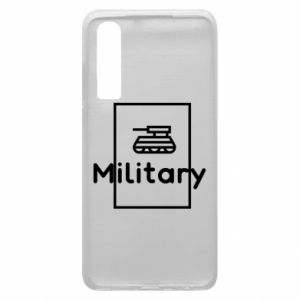 Huawei P30 Case Military with a tank