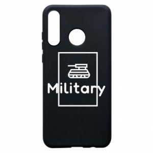 Huawei P30 Lite Case Military with a tank