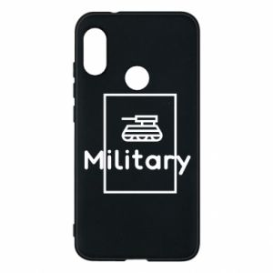Mi A2 Lite Case Military with a tank