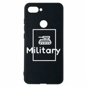 Xiaomi Mi8 Lite Case Military with a tank
