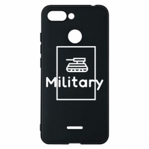 Xiaomi Redmi 6 Case Military with a tank