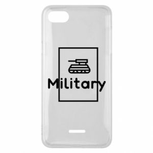 Xiaomi Redmi 6A Case Military with a tank