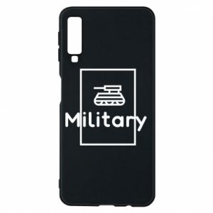 Samsung A7 2018 Case Military with a tank