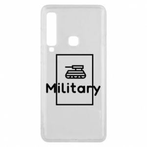 Samsung A9 2018 Case Military with a tank