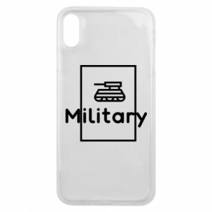 iPhone Xs Max Case Military with a tank