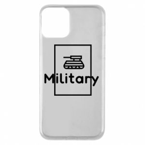 iPhone 11 Case Military with a tank