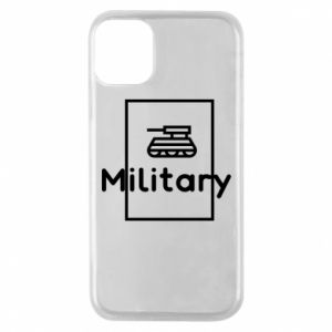 iPhone 11 Pro Case Military with a tank