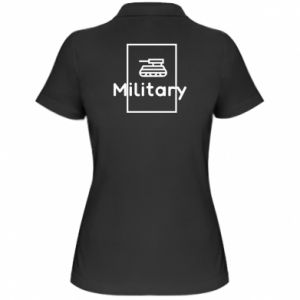 Women's Polo shirt Military with a tank
