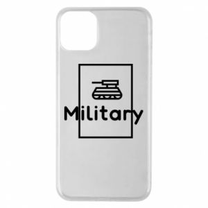 iPhone 11 Pro Max Case Military with a tank