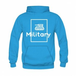 Kid's hoodie Military with a tank