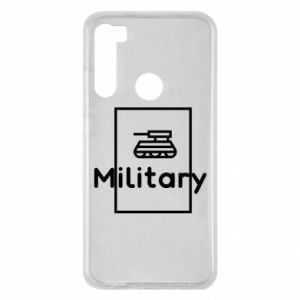 Xiaomi Redmi Note 8 Case Military with a tank