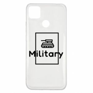 Xiaomi Redmi 9c Case Military with a tank