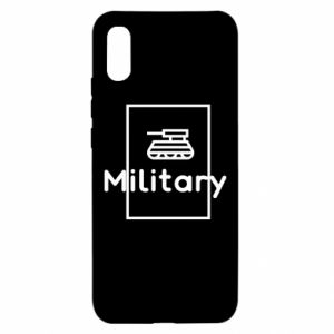 Xiaomi Redmi 9a Case Military with a tank