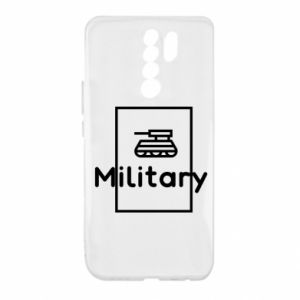 Xiaomi Redmi 9 Case Military with a tank