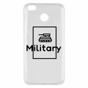 Xiaomi Redmi 4X Case Military with a tank