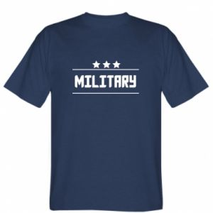 T-shirt Military with stars