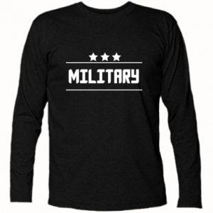 Koszulka z długim rękawem Military with stars