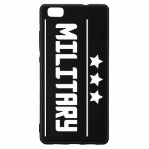 Huawei P8 Lite Case Military with stars
