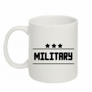 Kubek 330ml Military with stars