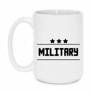 Kubek 450ml Military with stars