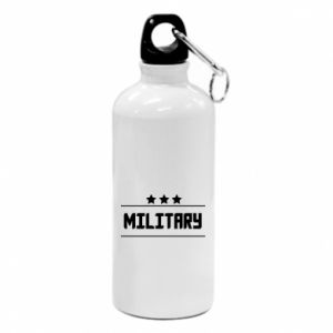 Water bottle Military with stars