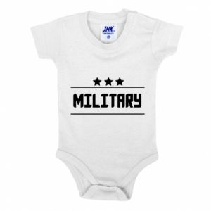 Baby bodysuit Military with stars