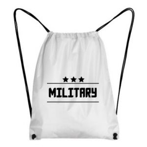 Backpack-bag Military with stars