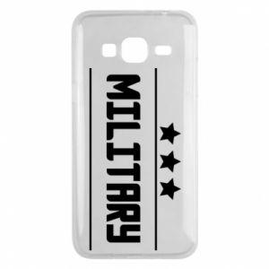 Samsung J3 2016 Case Military with stars