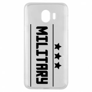 Samsung J4 Case Military with stars