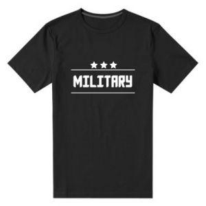Męska premium koszulka Military with stars