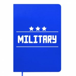 Notepad Military with stars
