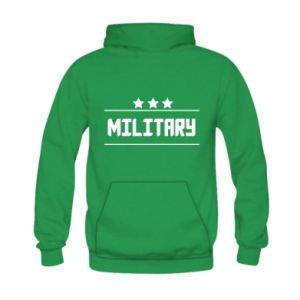 Kid's hoodie Military with stars