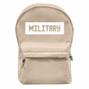 Plecak z przednią kieszenią Military