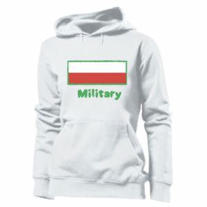 Bluza damska Military i flaga Polski