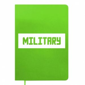 Notepad Military