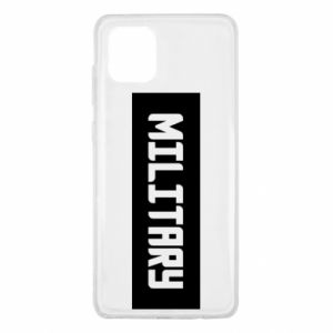 Samsung Note 10 Lite Case Military