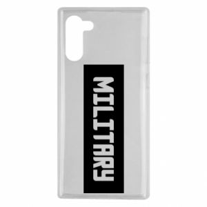 Samsung Note 10 Case Military